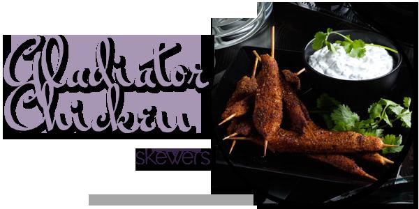 Gladiator Chicken Skewers
