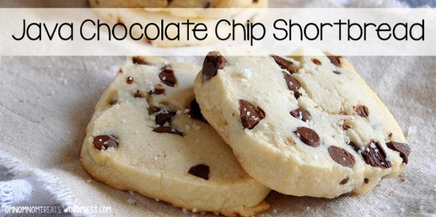 Java Chocolate Chip SHortbread