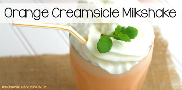 Orange Creamsicle Millkshake