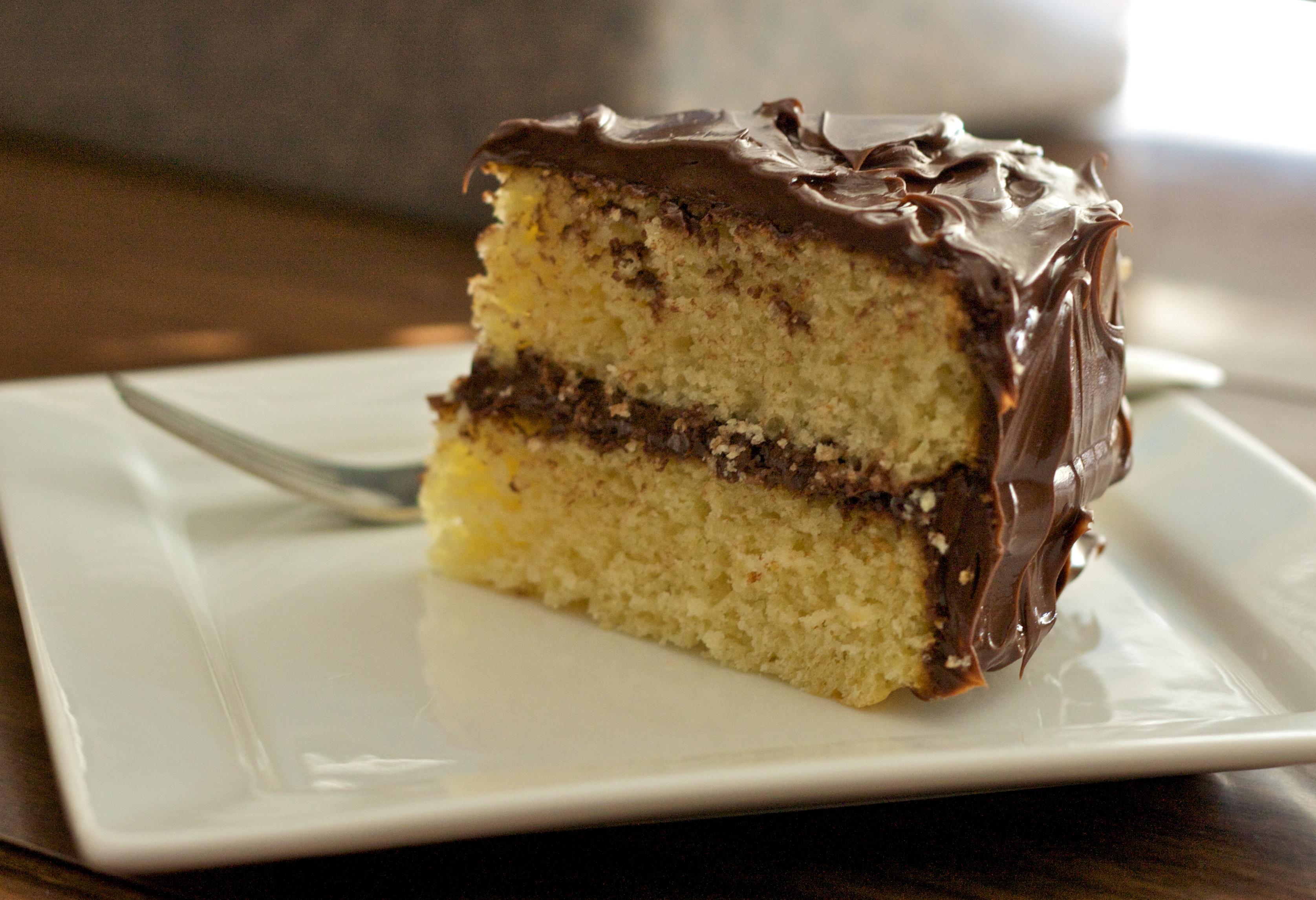 Sour Milk Yellow Cake Recipe