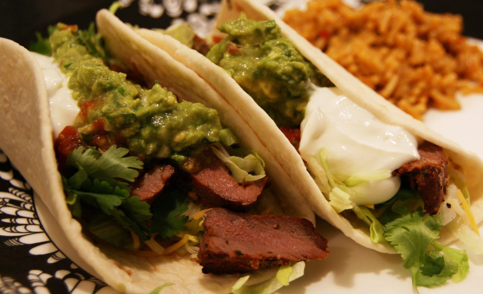 Carne Asada Tacos Recipe — Dishmaps
