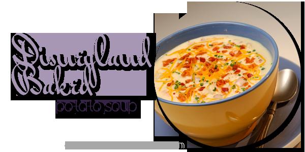 Disneyland Baked Potato Soup