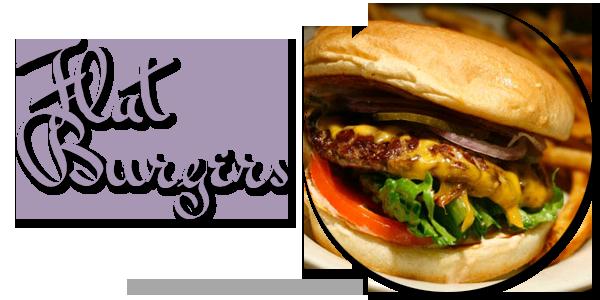 Flat Burgers
