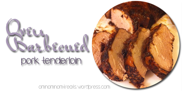 Oven Barbecued Pork Tenderloin