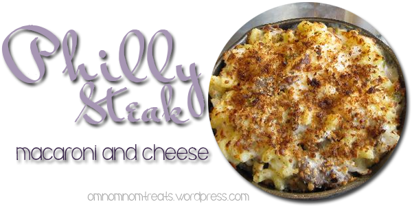 Philly Steak Macaroni and Cheese