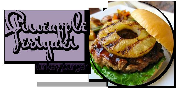 Pineapple Teriyaki Turkey Burger