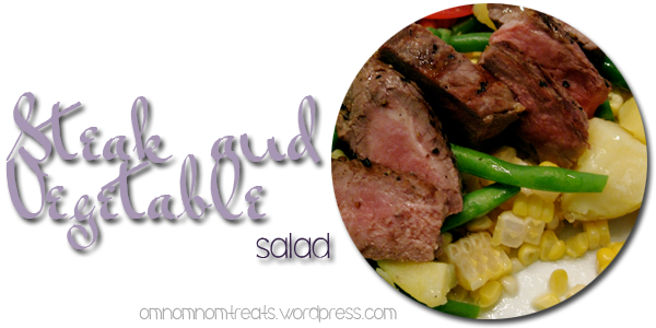 Steak and Veggie Salad