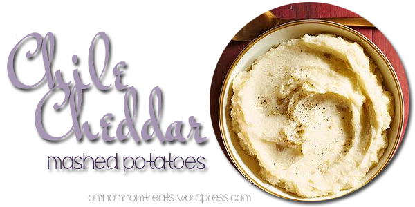 Chile Cheddar Mashed Potatoes