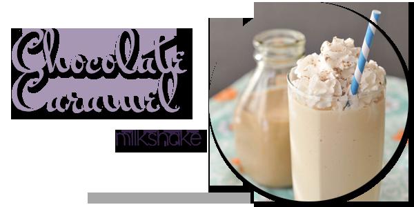 Chocolate Caramel Milkshake