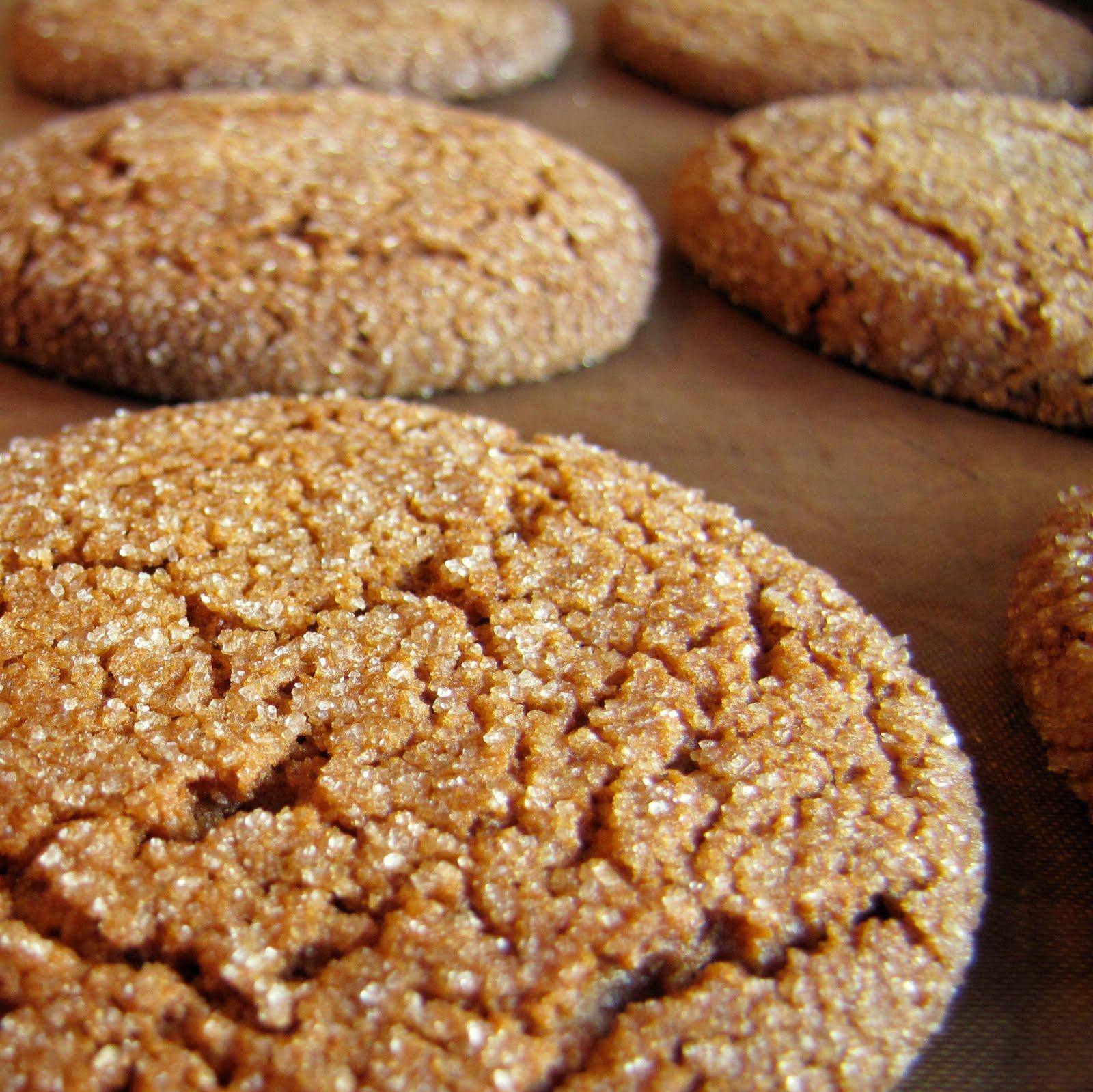 Big Soft Ginger Cookies | Om Nom Nom - Eats & Treats