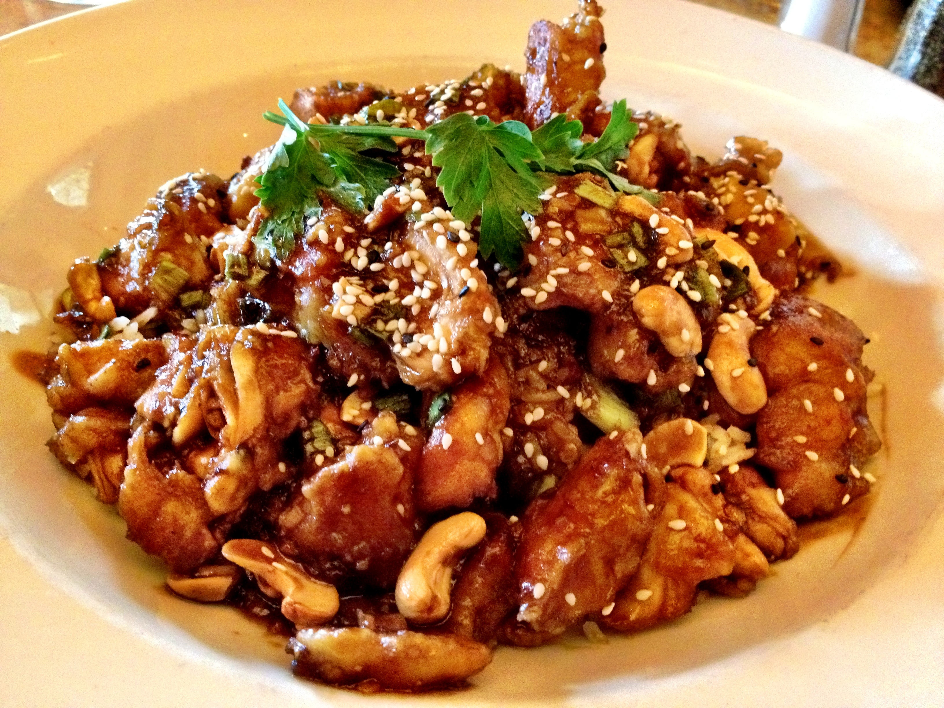 Cheesecake Factory Spicy Cashew Chicken