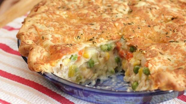 Chicken & Vegetable Pot Pie
