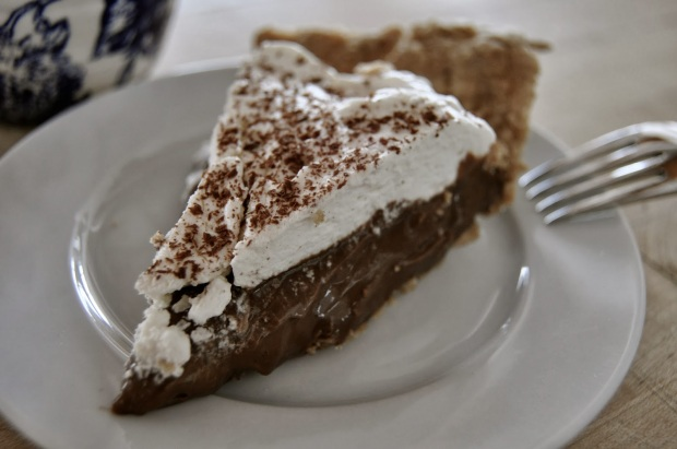 Chocolate Cream Paradise Pie