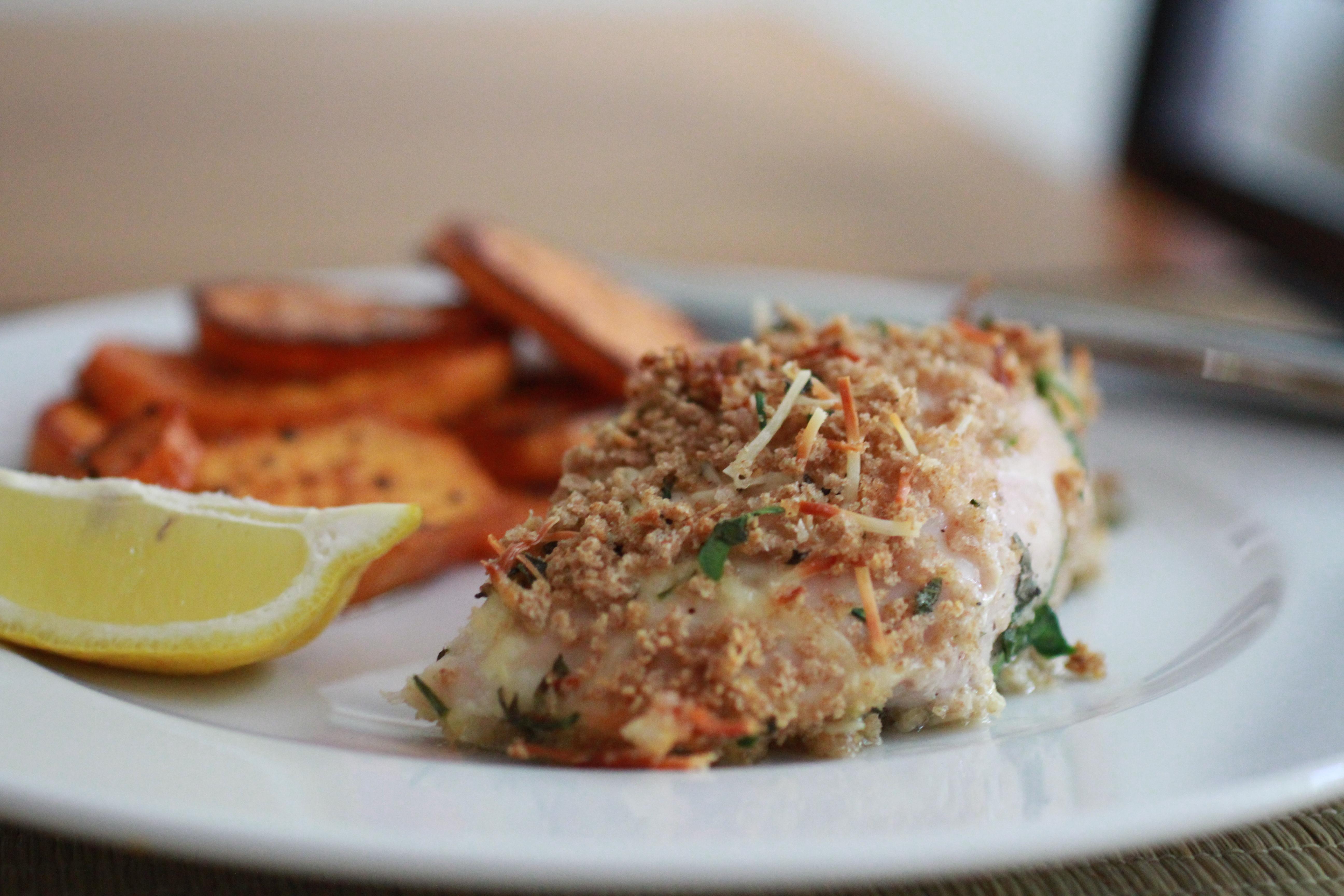 Herbed Panko Chicken   Om Nom Nom - Eats & Treats