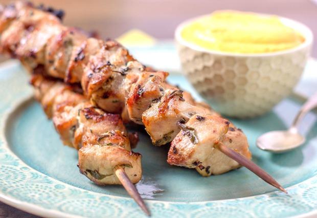 Mediterranean Chicken Kebabs
