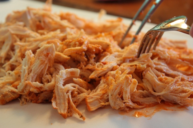 Slow Cooker Buffalo Chicken