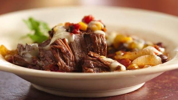 Slow Cooker Tex-Mex Round Steak