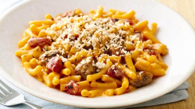 Sriracha Macaroni & Cheese