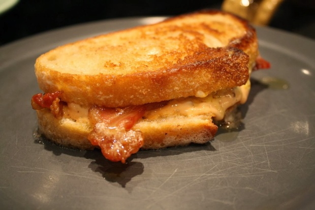 Diner Delicious Bacon Grilled Cheese