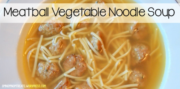 Meatball Vegetable Noodle Soup
