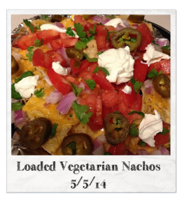 20140505 - Loaded Vegetarian Nachos