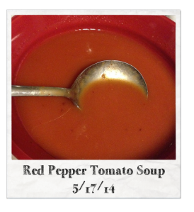 20140517 - Red Pepper Tomato Soup