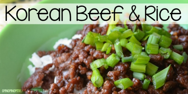 Korean Beef & Rice