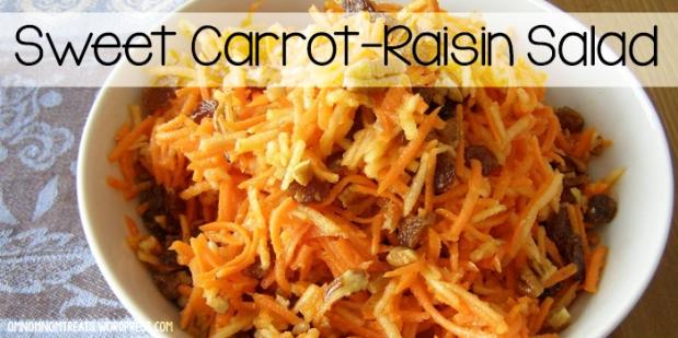 Sweet Carrot Raisin Salad