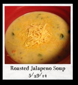 20140529 - Roasted Jalapeno Soup
