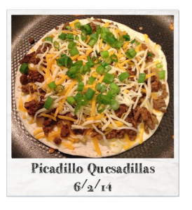 20140602 - Picadillo Quesadillas