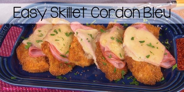 Easy Skillet Cordon Bleu