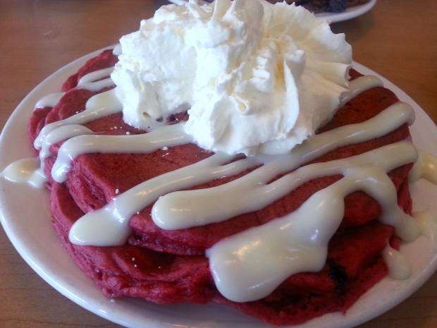 IHOP Copy Cat Red Velvet Pancakes